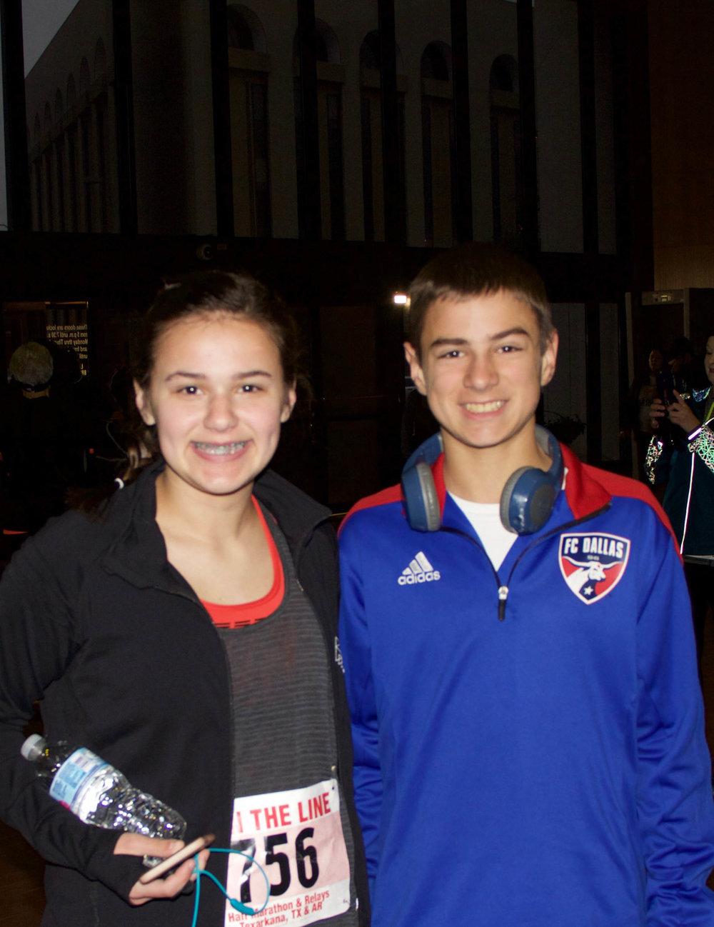 Sarah Hamlin and Bradley Filla
