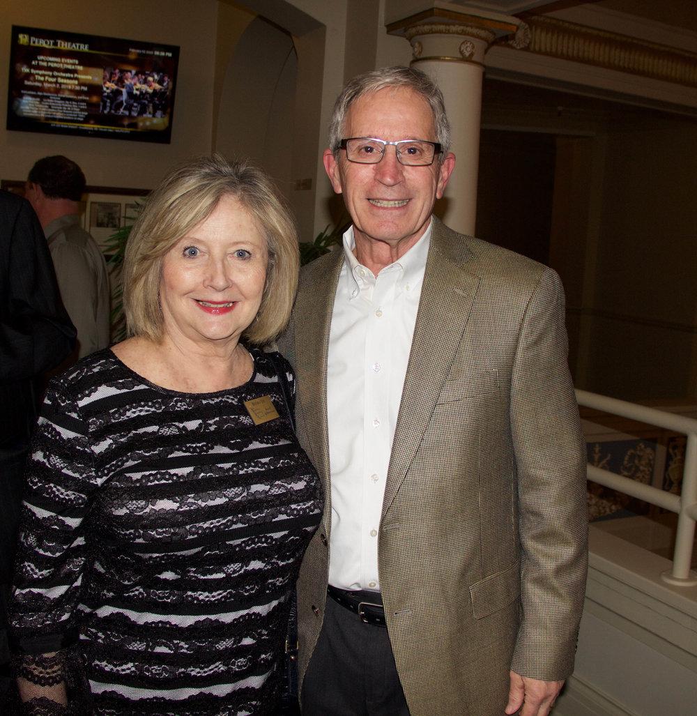 Beverly and Paul Tye