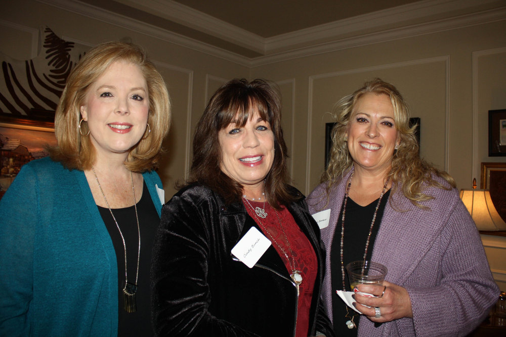 Melanie Cockerell, Cindy Bunch and Laurie Booker