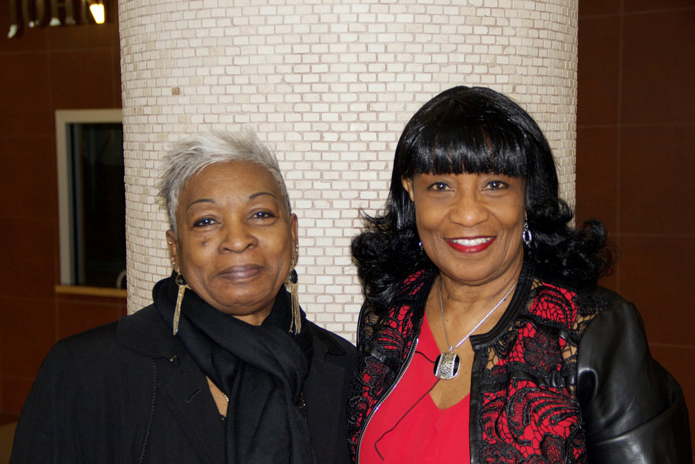 Mary Pegues and Davi Dancy