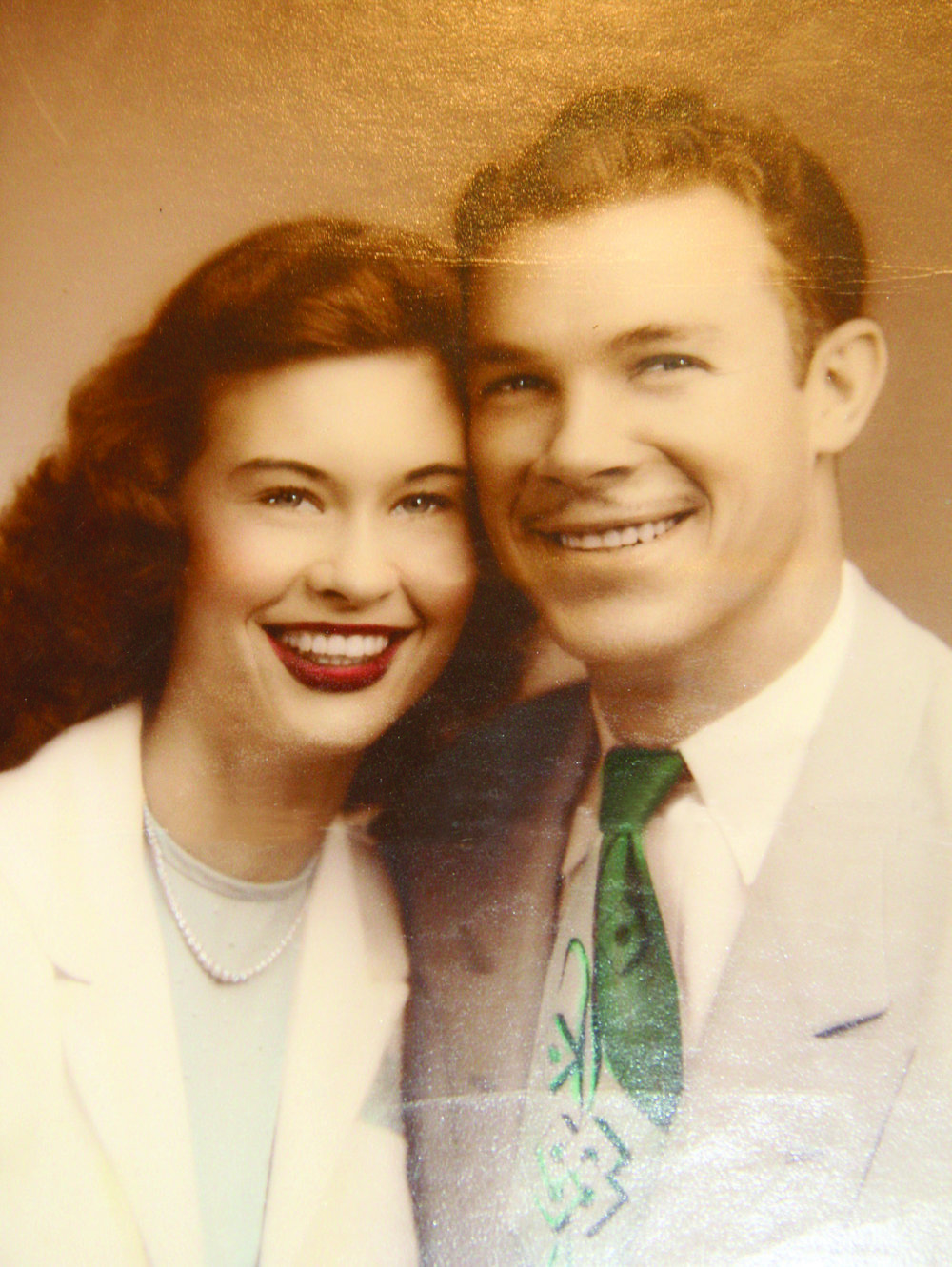 Bobby and his wife, Mary, were married during March 1951.