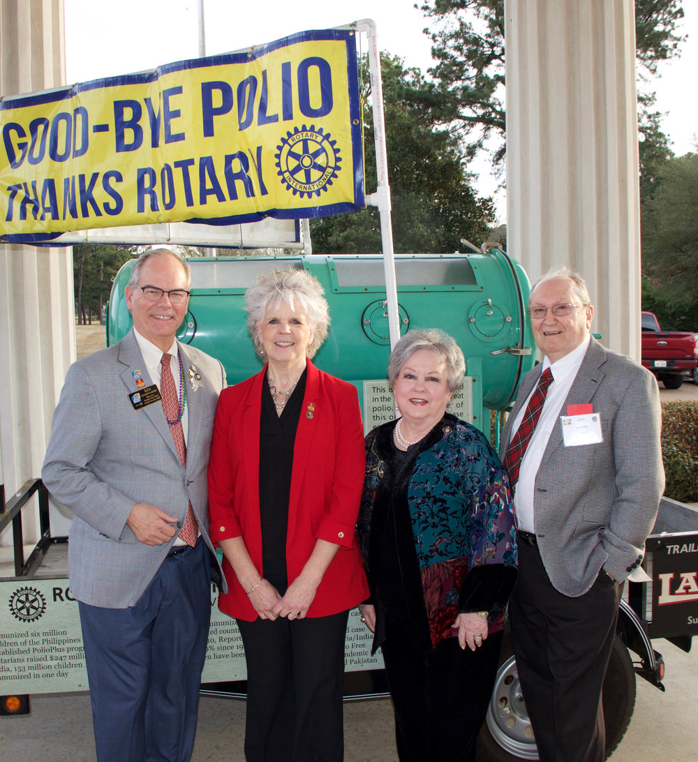 Lee Montgomery, Ann Lee Hussey, Shirley Griffin and Dr. John Griffin