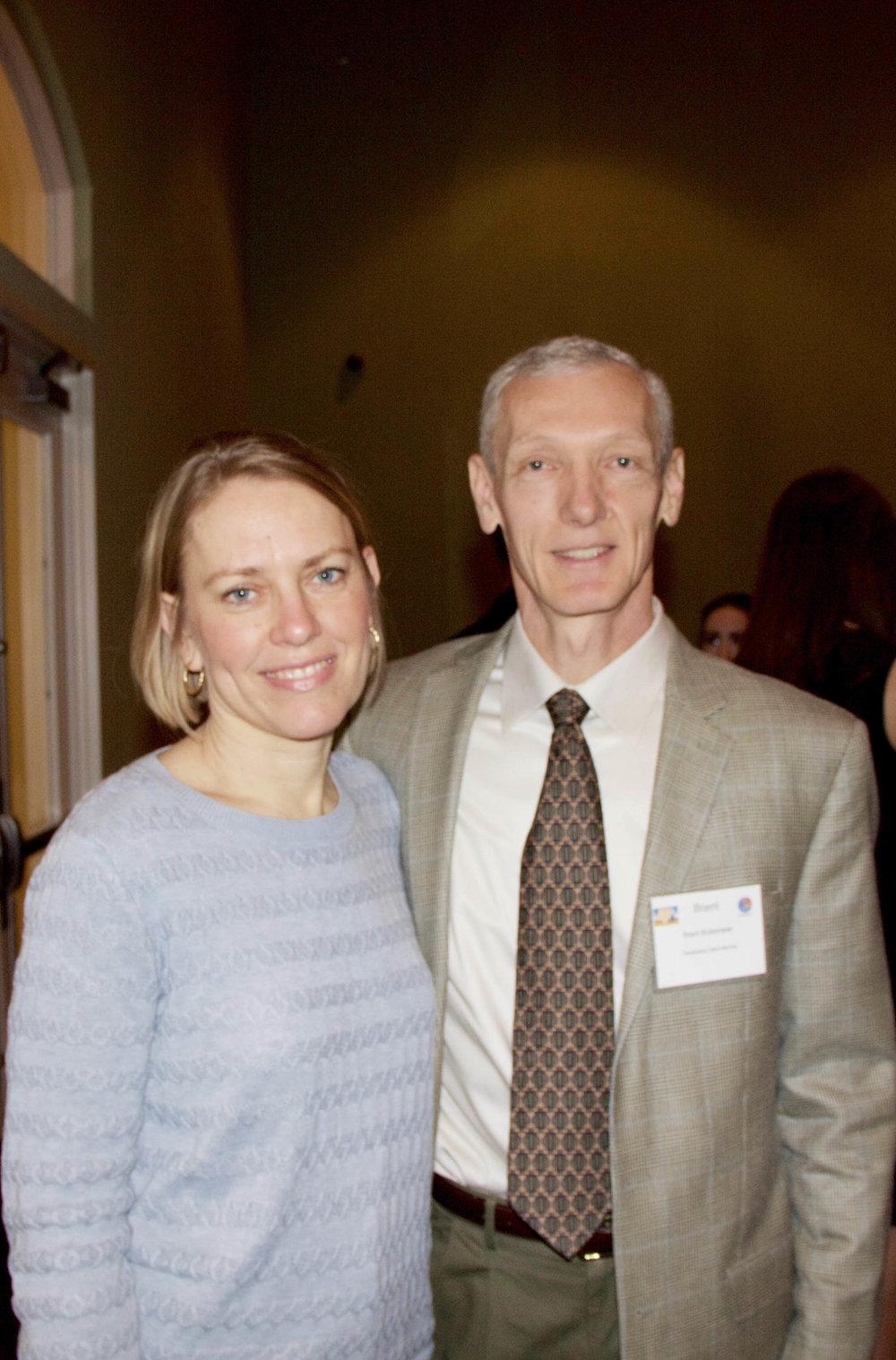 Marie and Brent Boltemeier
