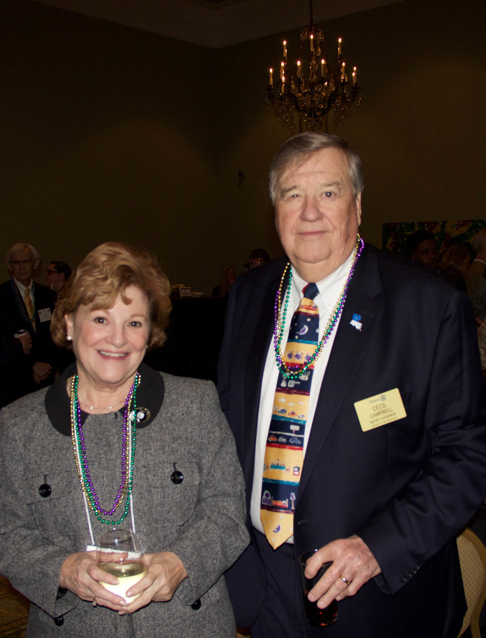 Sherry and Cecil Campbell