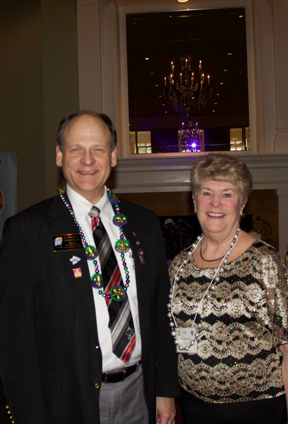Carroll Greenwaldt and Judy Guthrie