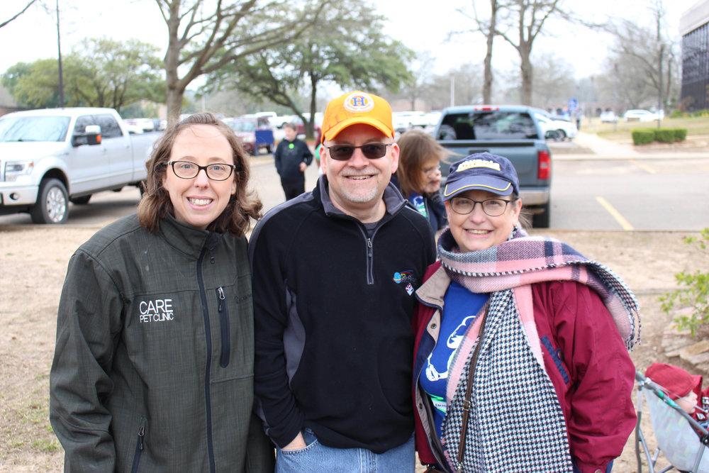 Jocelyn Kemp, Ken Schroepfer and Annette Perry