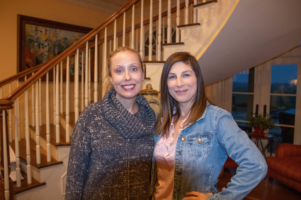 Natasha Dowd and Taylor Aumiller