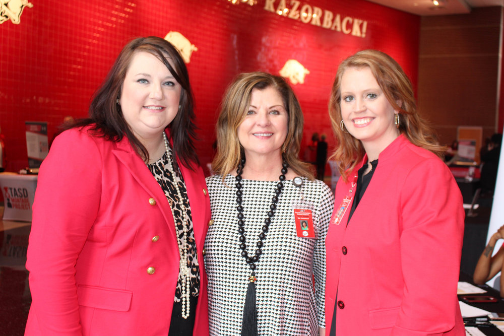 Rachel Scott, Robin Hickerson and Christiane Irvin
