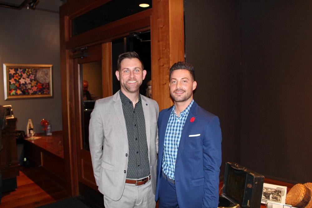 Jay Hoy and Brandon Dixon