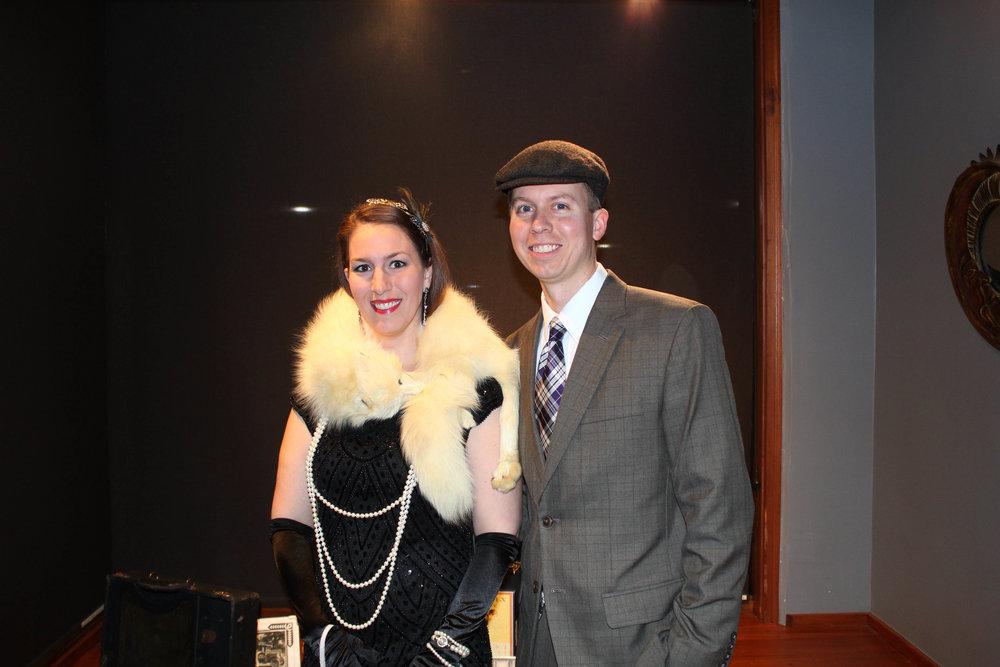 Katrina and Dr. Robert McGinnis
