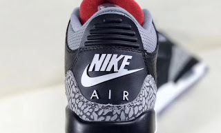 "Air Jordan 3 ""Black Cement"""