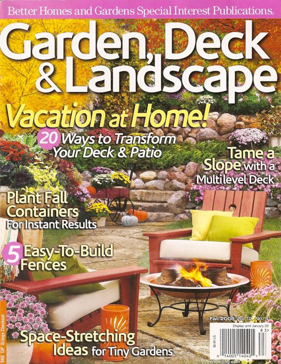 BETTER HOME & GARDEN - FALL 2008