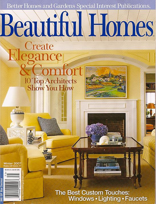 BEAUTIFUL HOMES - WINTER 2007