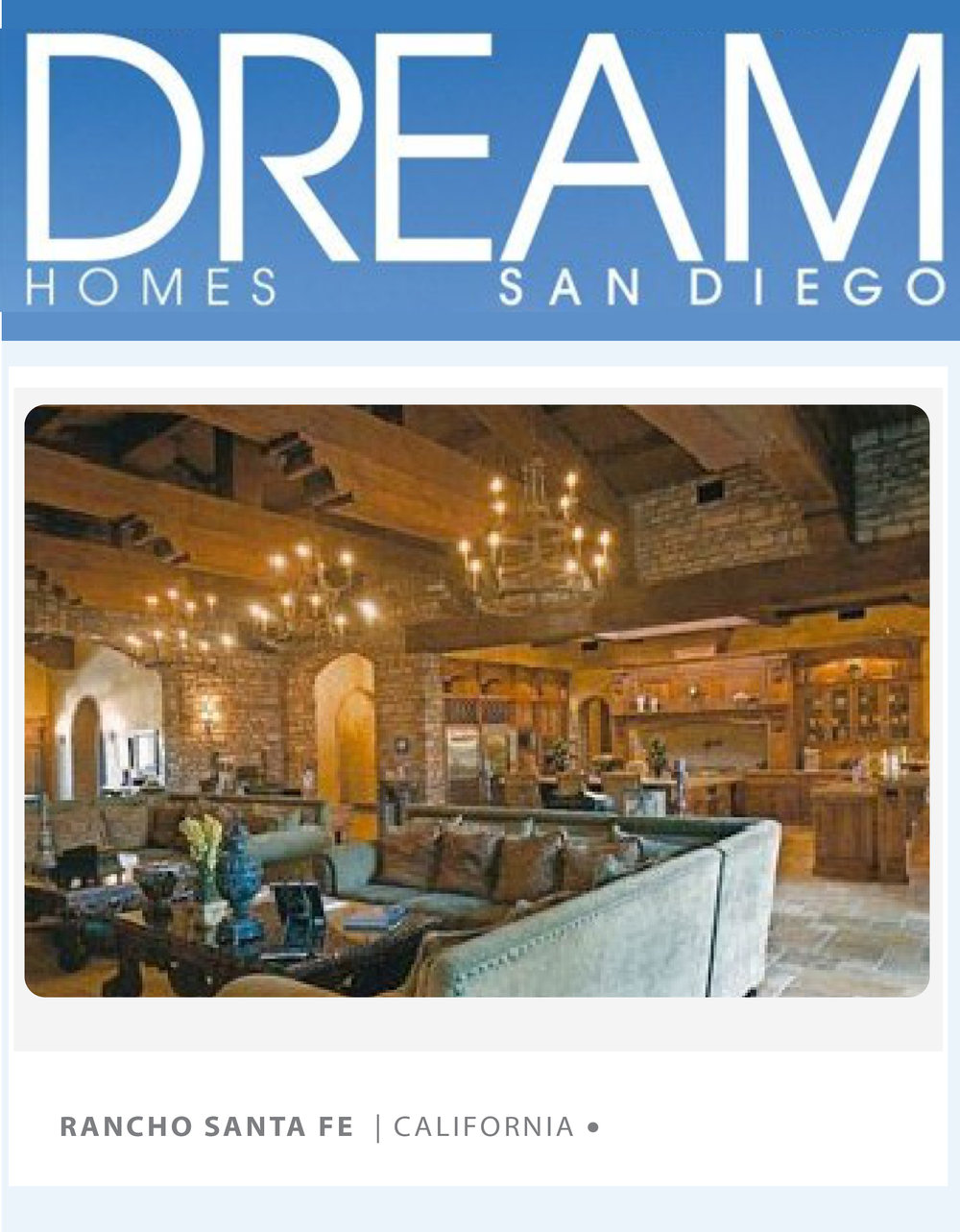 DREAM HOMES - NOV 2007