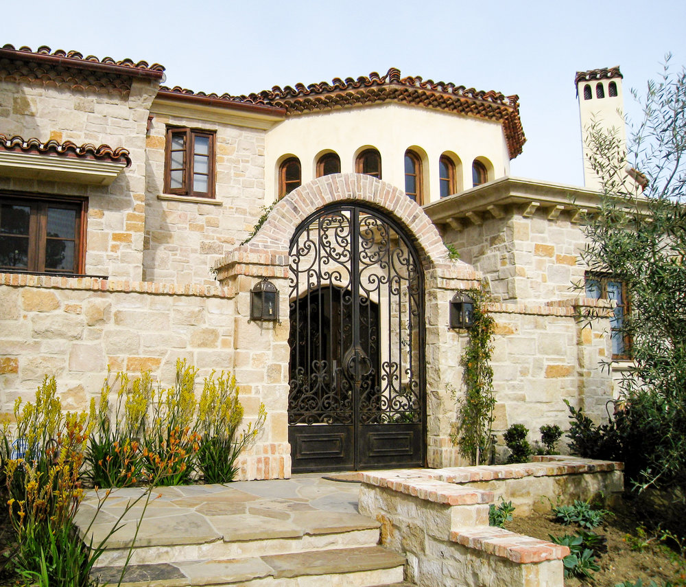SPANISH STYLE home -
