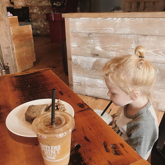 Already found our new normal coffee + milk spot || #coffeewitheloiserose