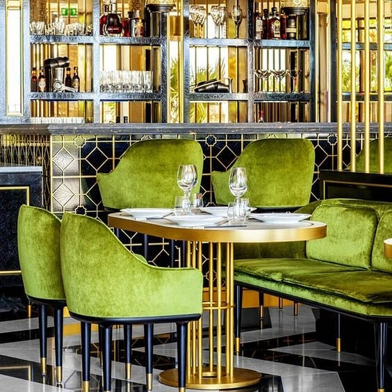 Meet me in Monaco... where is your dream destination? #interiordesign #design #interiordesigner #custommade #art #interiors #custom #decor #instadesign #style #designer Song Qi restaurant in Monaco by @humbertetpoyet