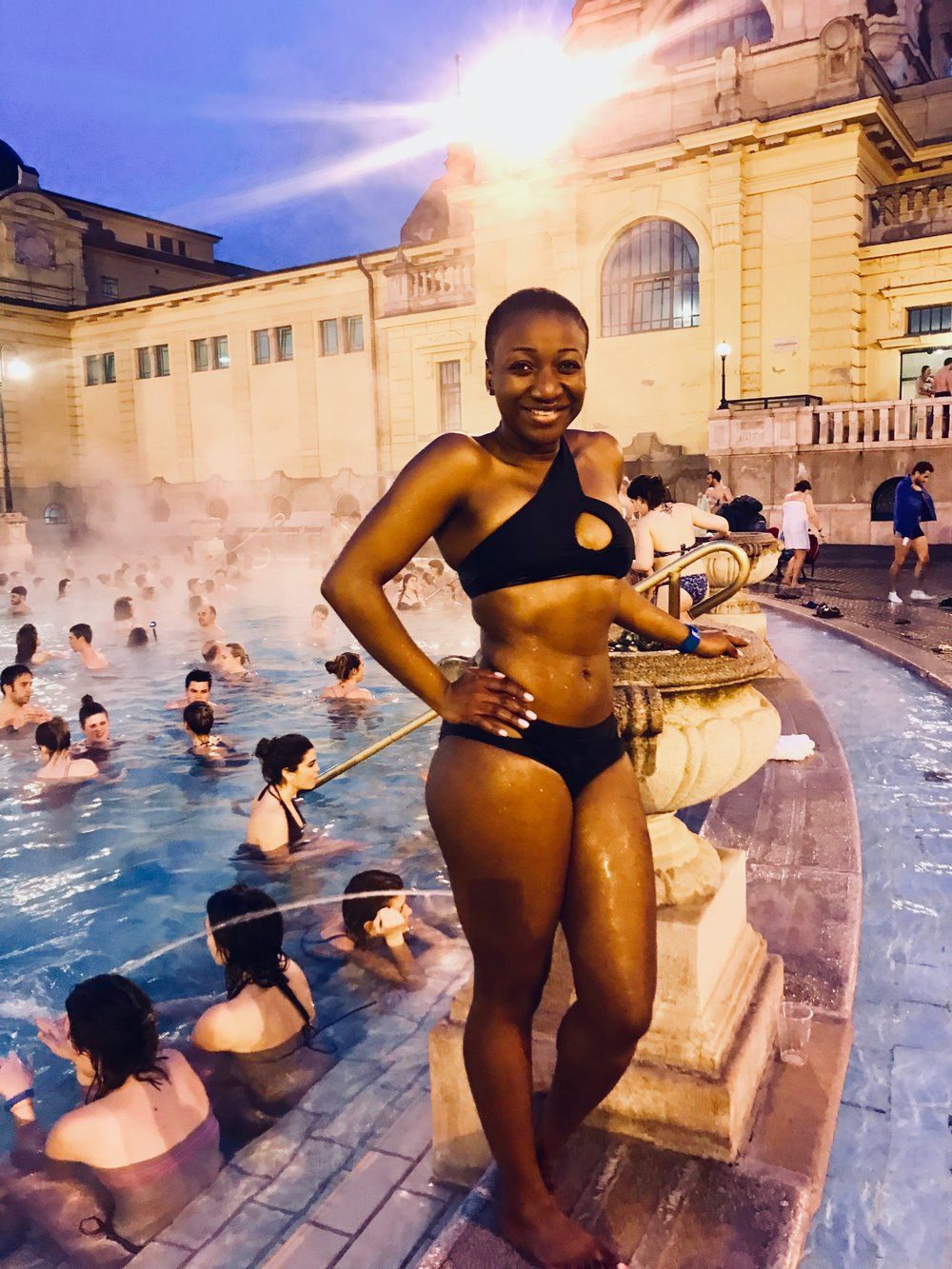 Szechenyi Baths and Spa, Budapest | March 2018