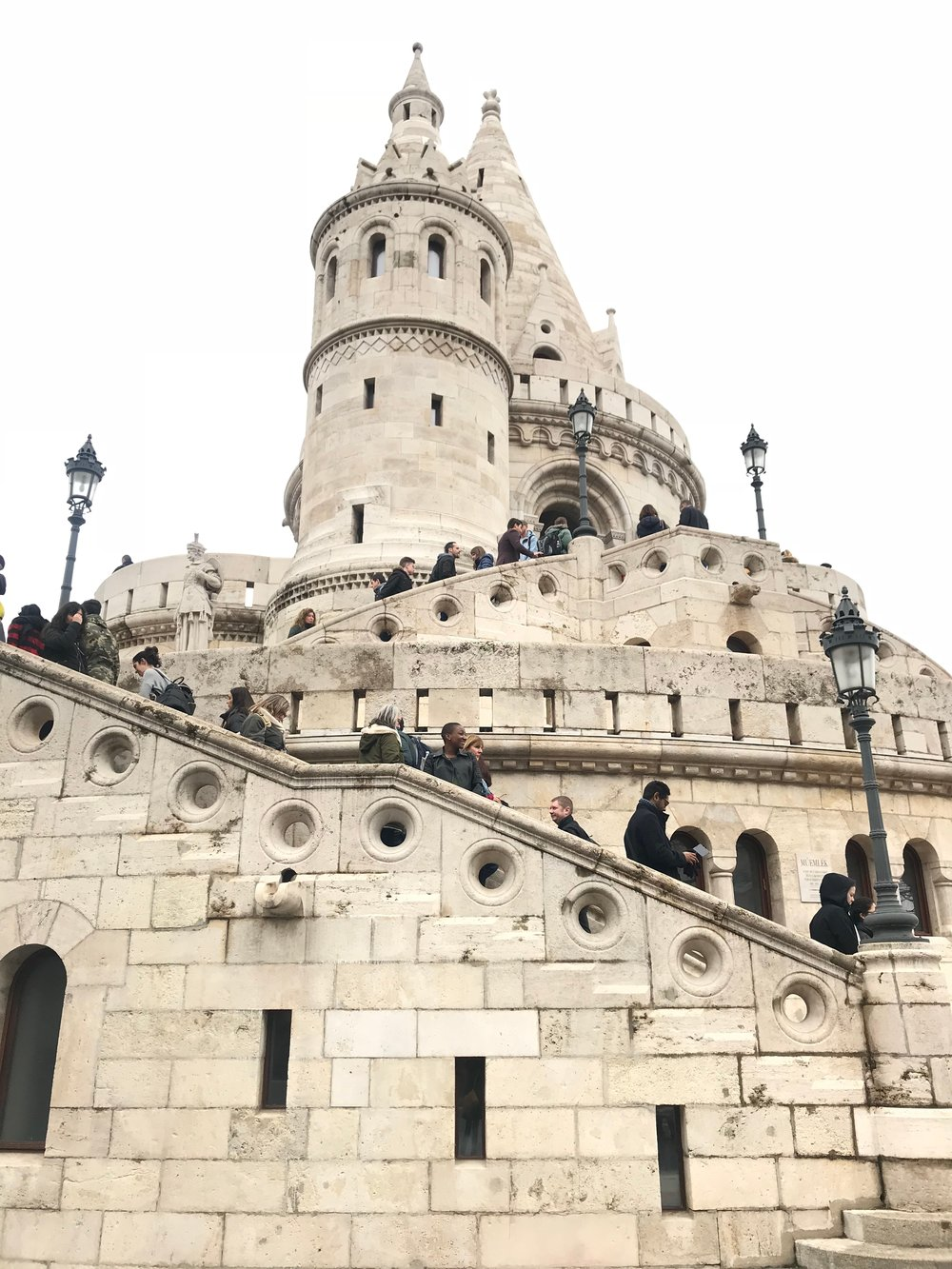 Teehee  Fisherman's Bastion, Budapest | March 2018
