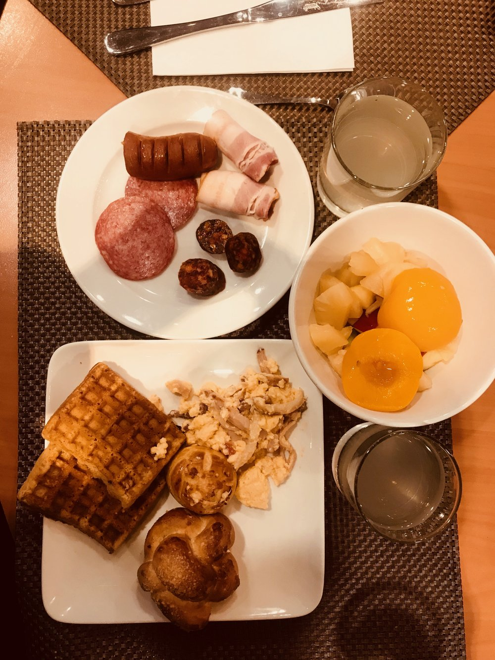 Breakfast in Hungary  Budapest | March 2018