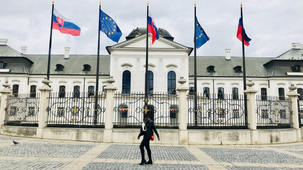 Grassalkovich Palace, residence of the president of Slovakia  Bratislava | March 2018