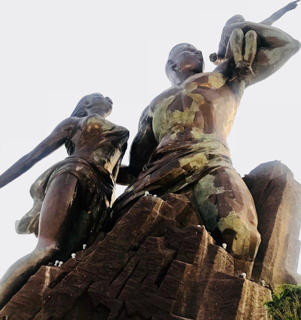 African Renaissance Monument  Dakar, Senegal | Sept 2018