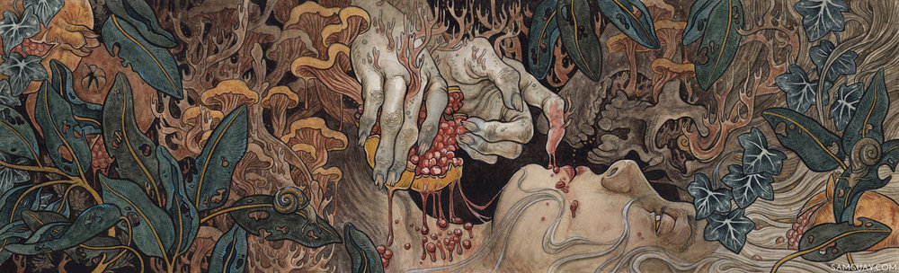 Sam Guay is creating Mystical Paintings, Tutorials, and more  | Patreon