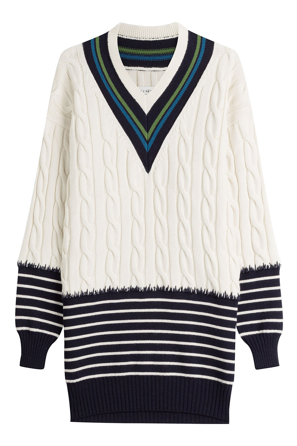 XXX jumper, £671 by Maison Margiela