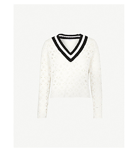 Cotton jumper, £239 by Claudie Pierlot