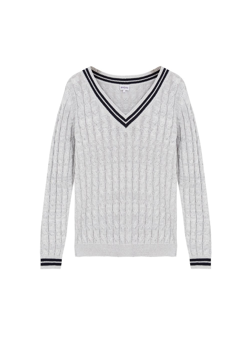 Linen and cotton jumper, £69 by Brora