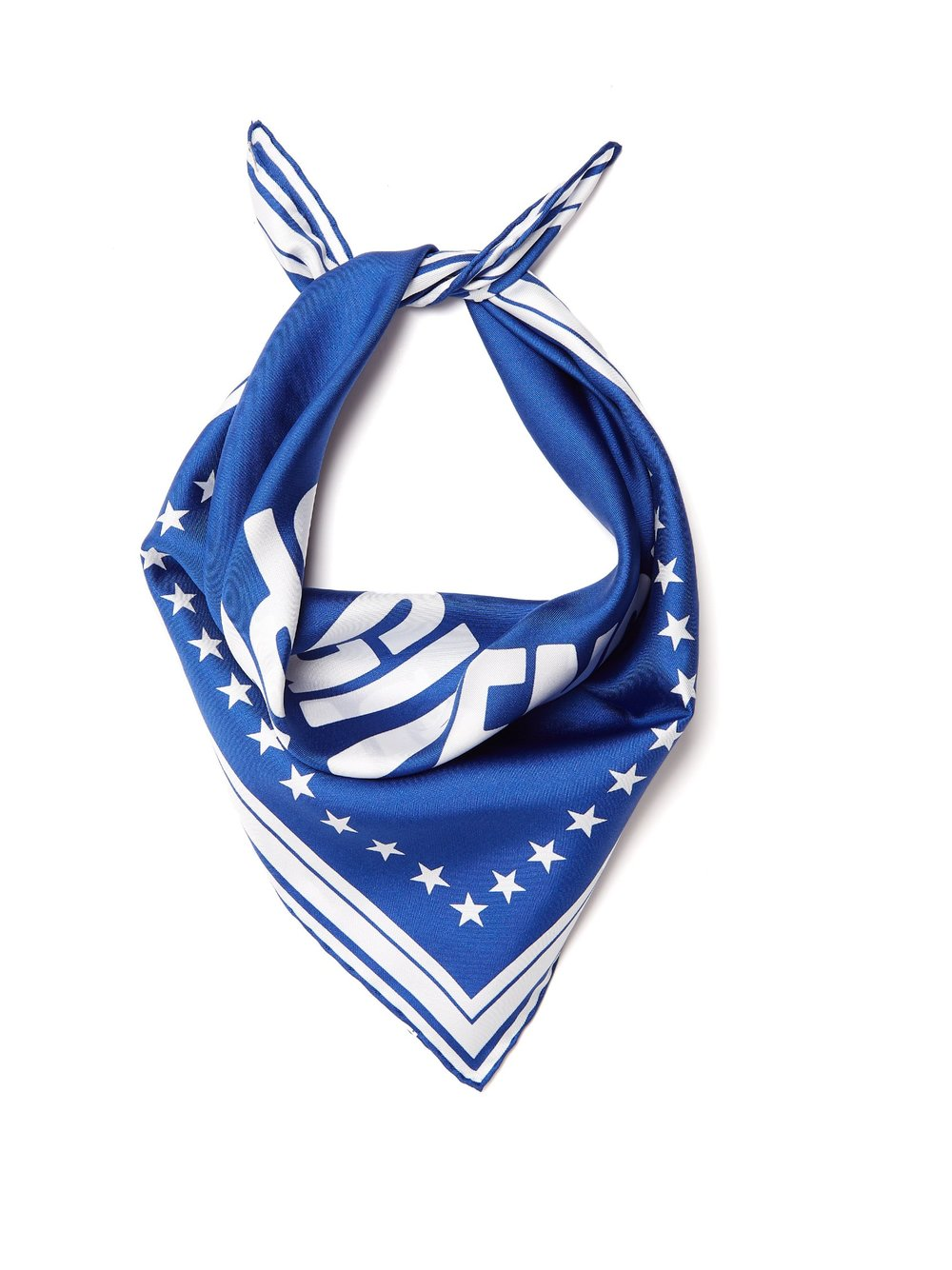 Silk twill scarf, £125 by Givenchy at Matches