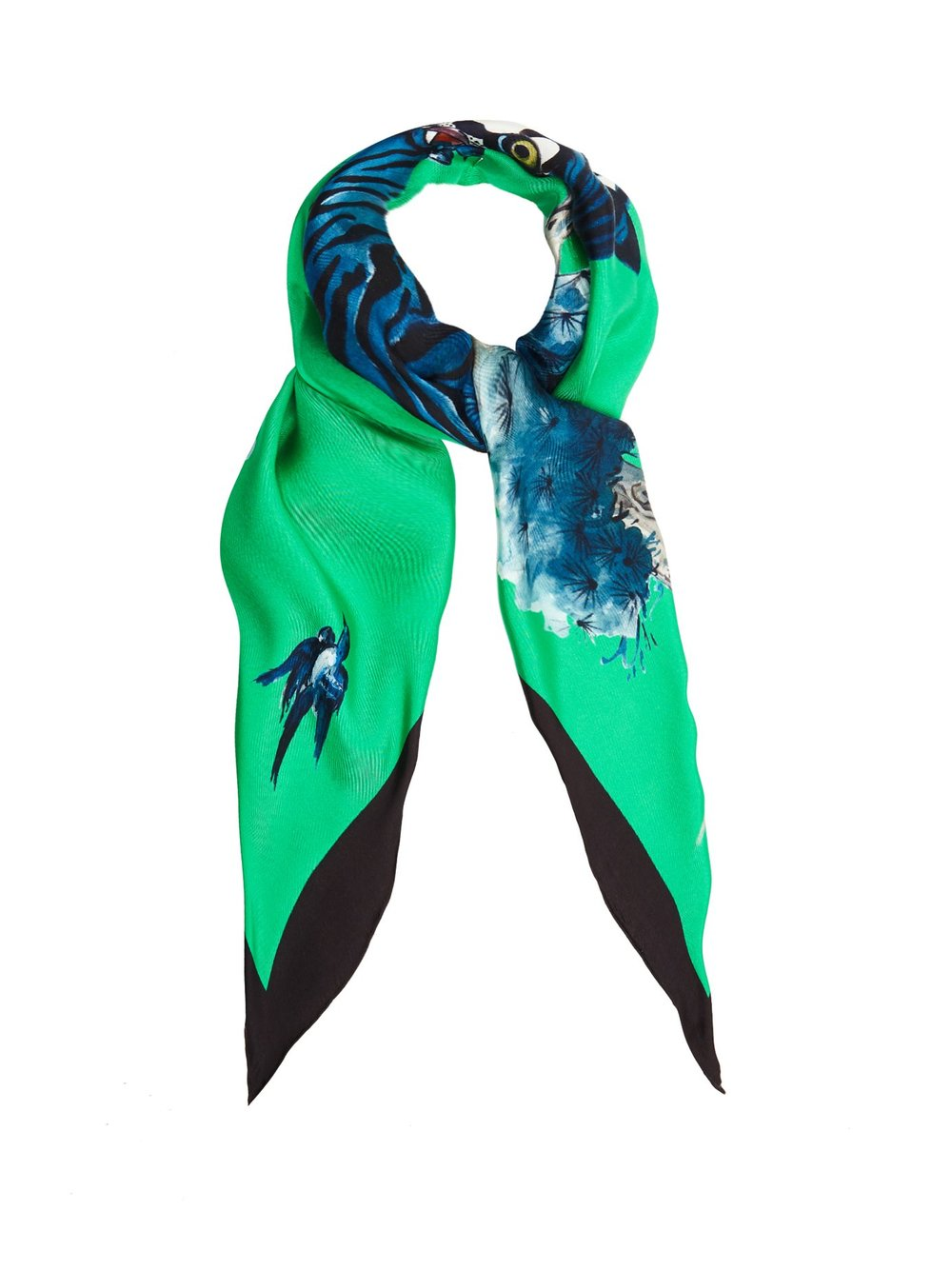 Silk scarf, £310 by Gucci at Matches