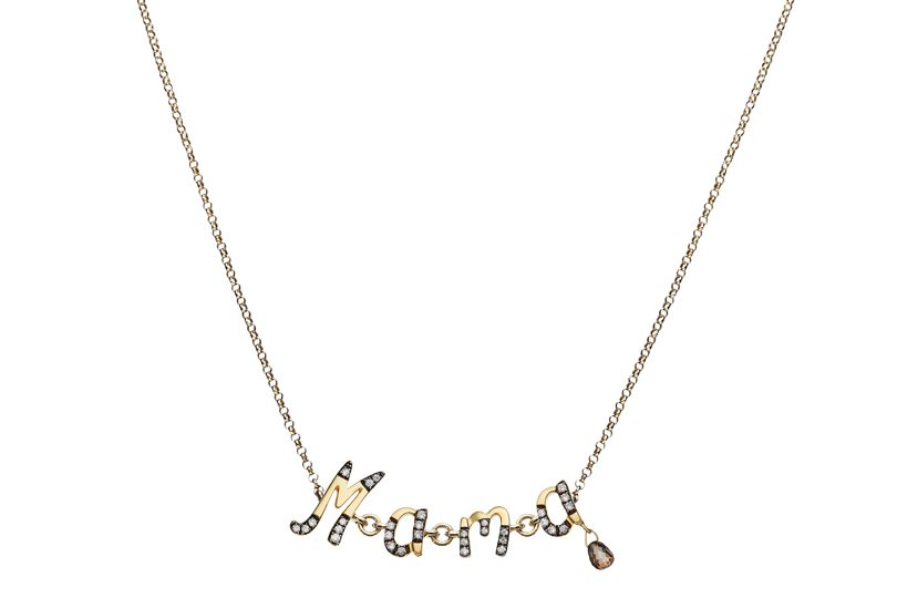 3. Personalised gold and rhodium necklace, from £800 by Annoushka