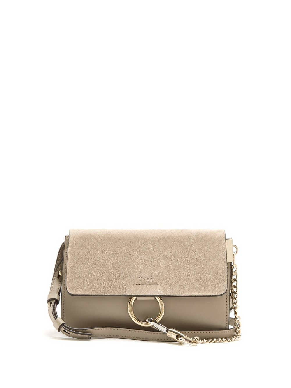 2. Leather and suede bag, £525 by Chloe at Matches