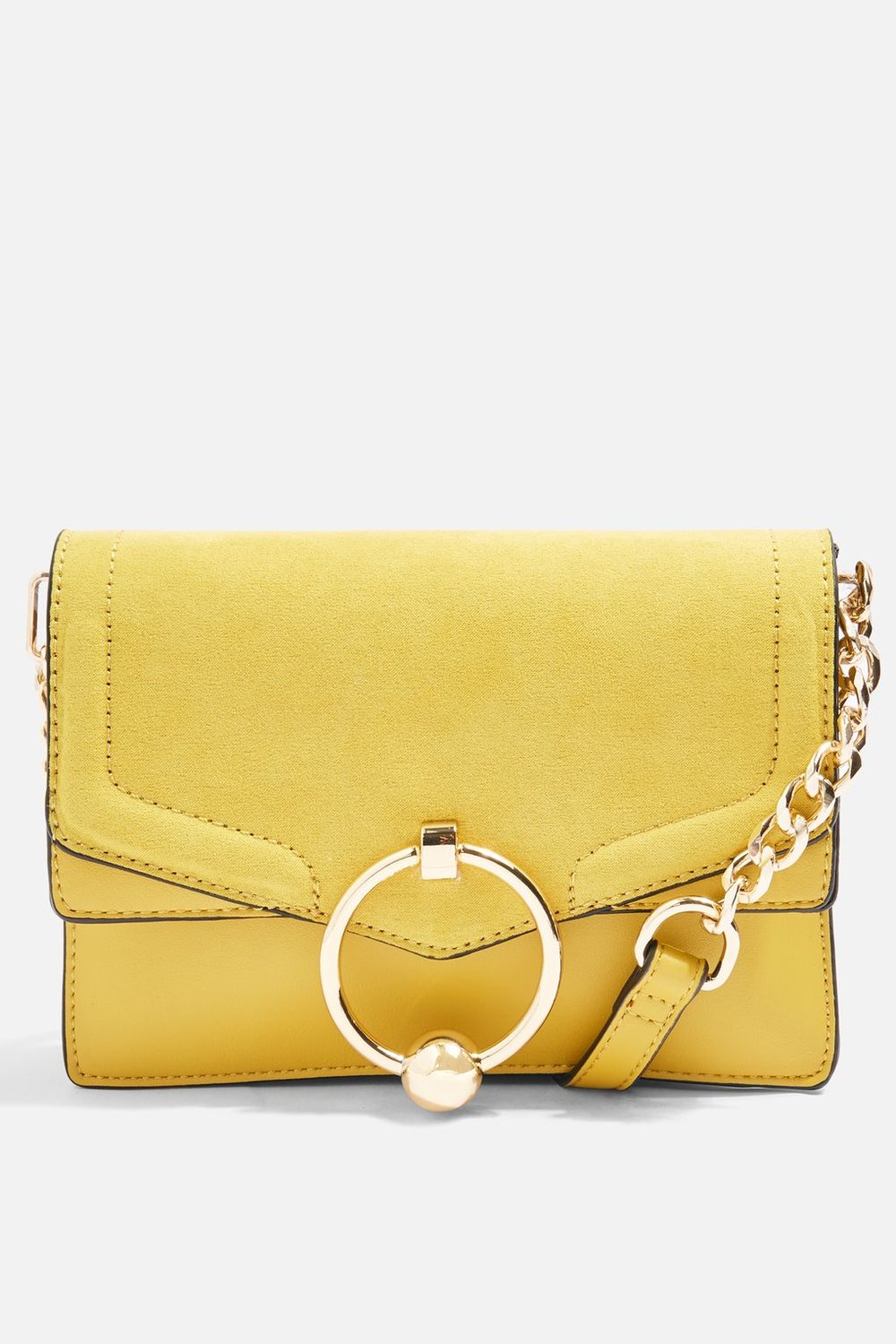 3. Leather bag, £95 by Topshop
