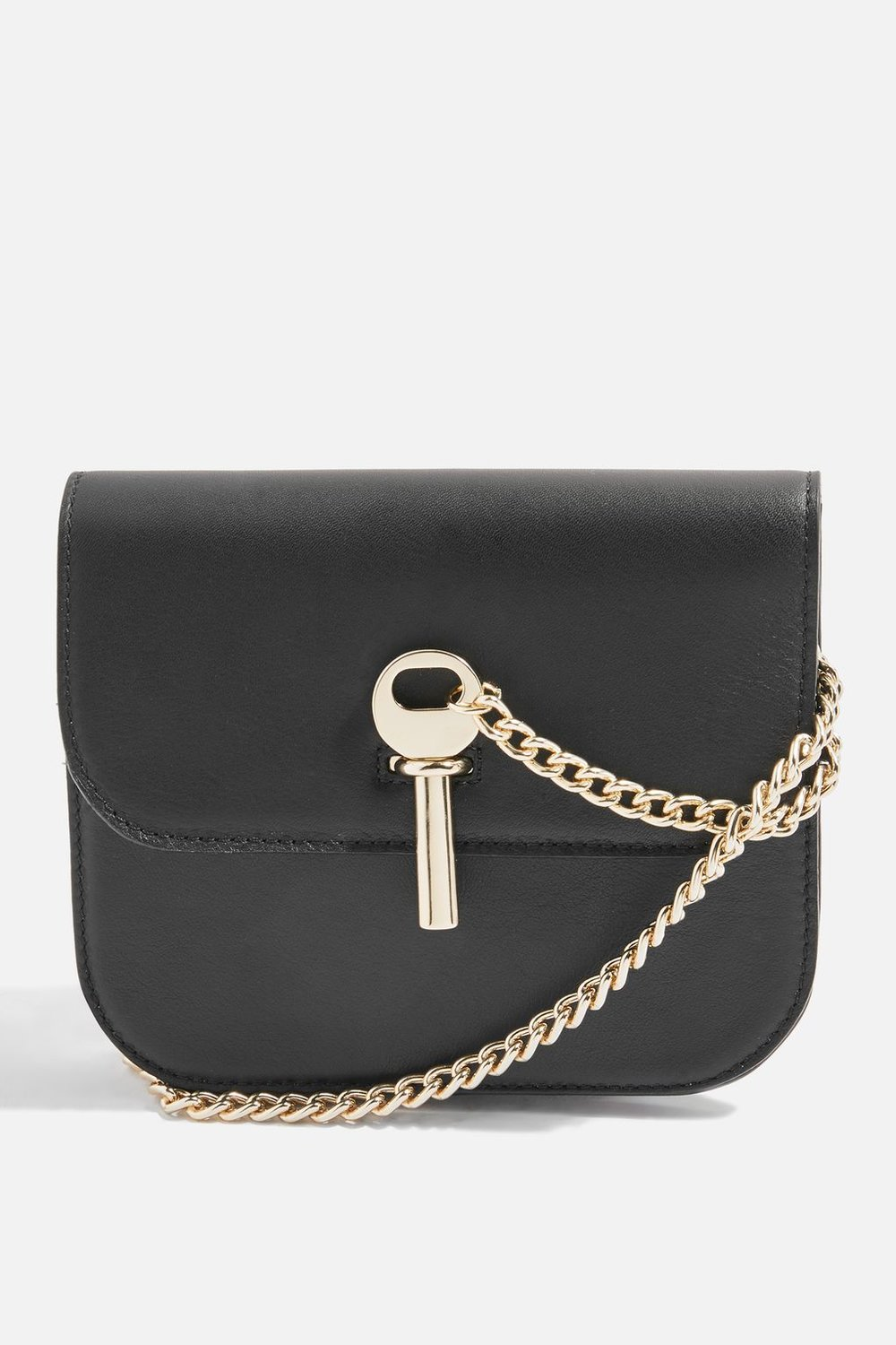 4. Leather bag, £95 by Topshop
