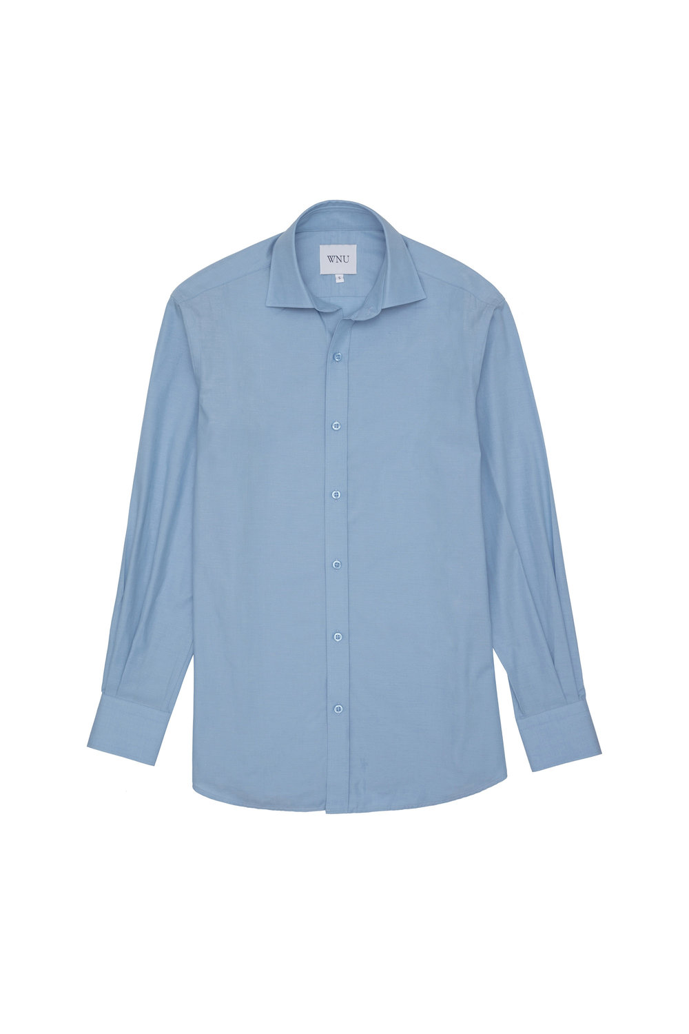 8. Blue With Nothing Underneath shirt, £80