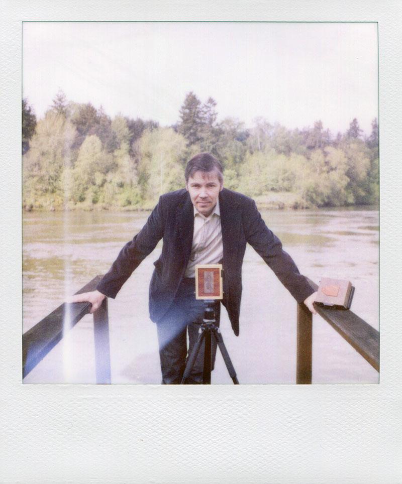 Darius and his pinhole cameras