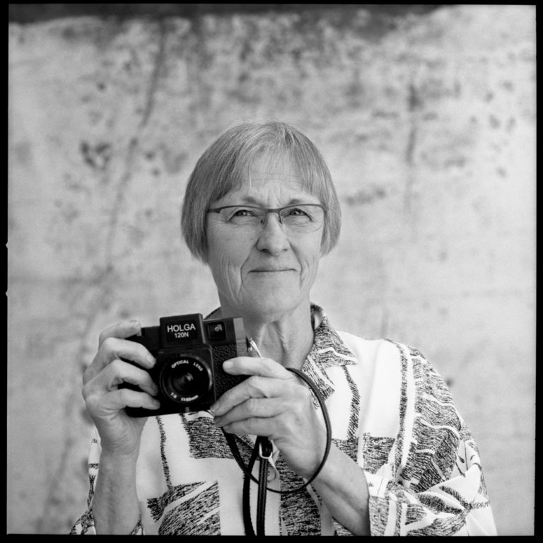 Claudia Howell - Where you'll see her: You probably won't! Claudia works part time in the back darkroom creating custom black and white enlargements and contact sheets.What she does in her off time: Claudia is a polo instructor, which often influences her photographic work (lots of horses!)What she listens to in the darkroom: NPRWhat's in her camera bag: A Holga, Diana, Nikon FM.Claudia's website