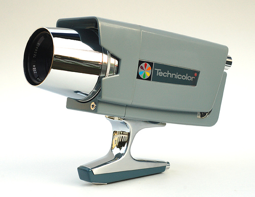 Technicolor Mark Ten Super 8 camera. It looks awesome, but does it do everything you want? Photo by    John Kratz   .