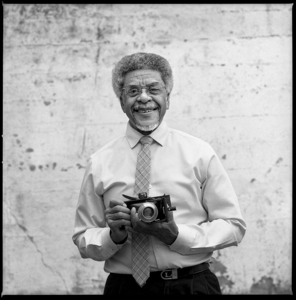 Larry Graham - Where you'll see him: Larry is working up front on our black and white printer 'Ray' alongside ReneeWhat's in his camera bag: Zeiss Ikon Ikonta