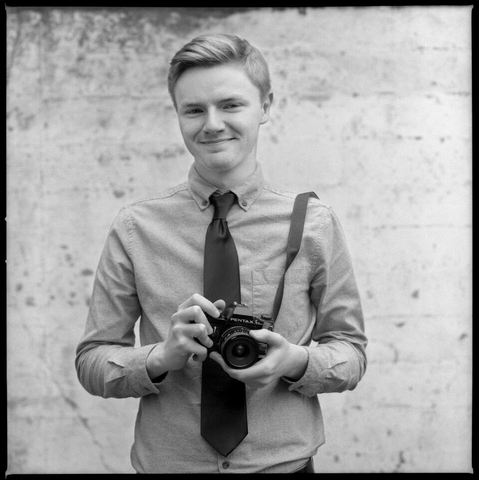 David Malmborg - Where you'll see him: David is the newest addition to our sales team; you'll find him at the counter helping photographers find their other half.What's in his camera bag: Pentax KX, Bronica SQ and now a Zenit-B.  There is a good chance he has a roll or two of Cinestill in there somewhere.David's Instagram
