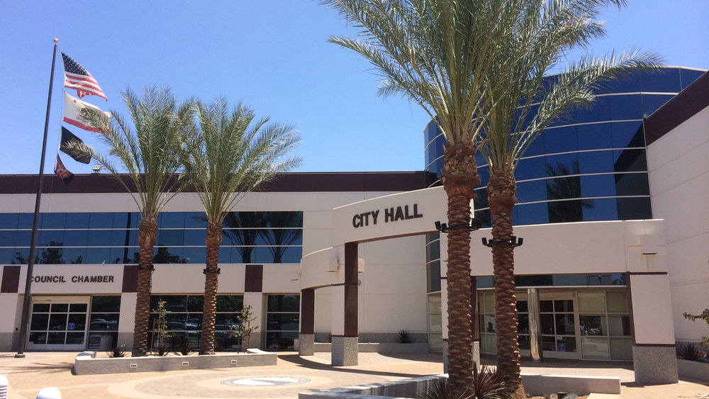 Moreno Valley City Hall Plaza