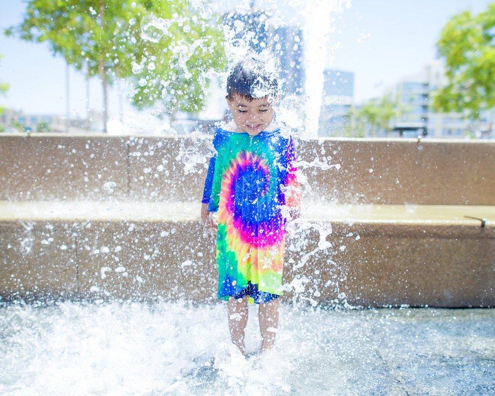 Water is joy!