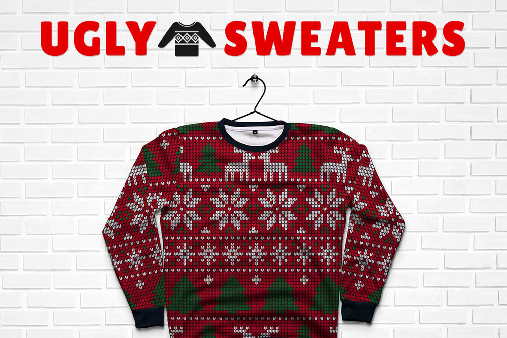 Ugly Christmas Sweater Design.Don We Now Our Ugly Christmas Sweaters Design By Humans Blog