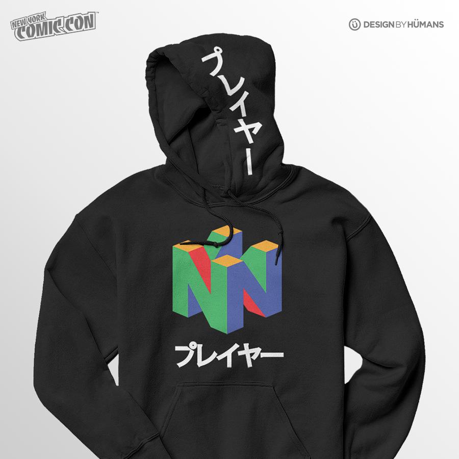N64 Hoodie | Nintendo - Pull Over Hoodie | Men's S - 2XL | $55