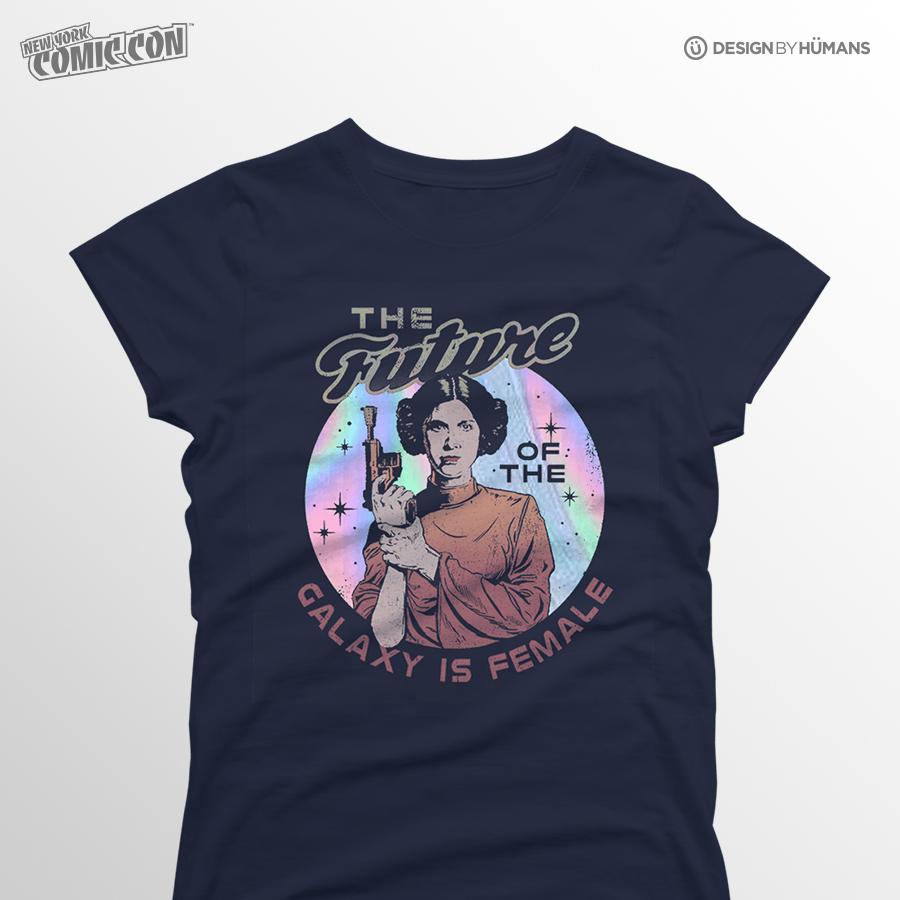 Future Is Female | Star Wars - Future Foil Print | Women's S - 2XL | $27