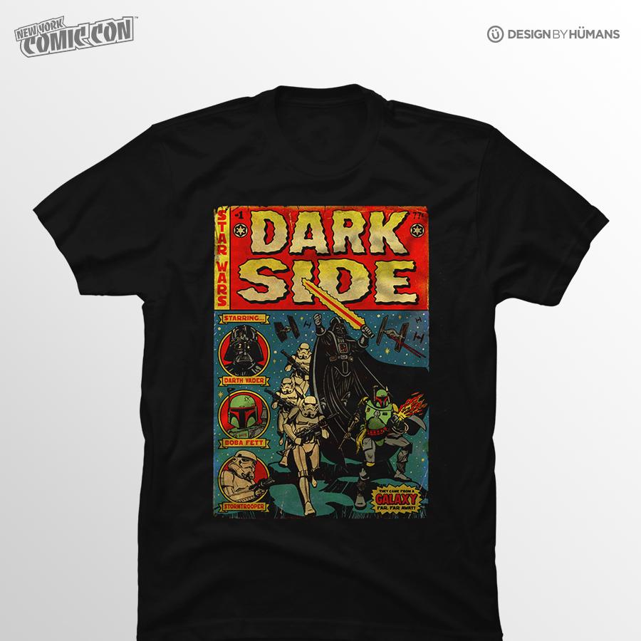 Dark Side Tales   Star Wars - Men's Tshirt   Men's S - 5XL   $27