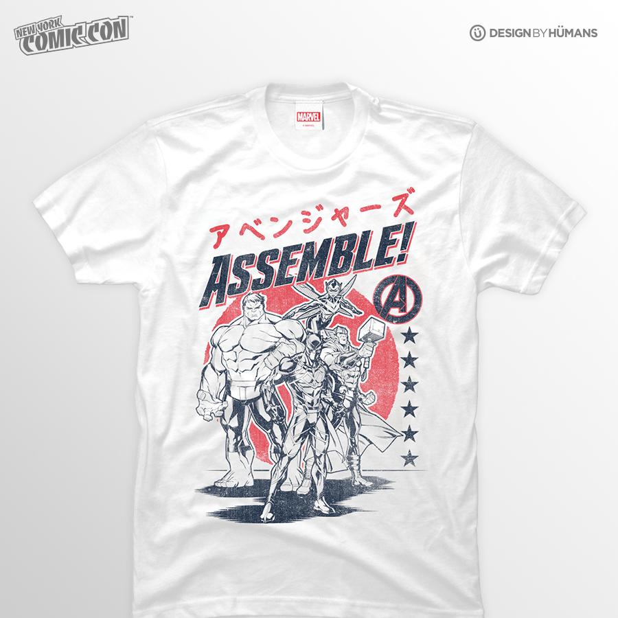 Avengers Assemble   Marvel - Men's Tshirt   Men's S - 3XL   $27