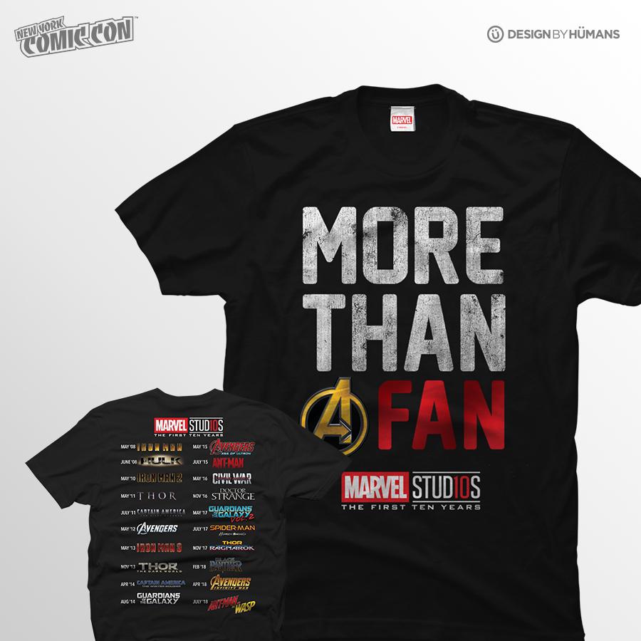 Marvel Anniversary   Marvel - Front/Back Print   Men's S - 5XL   $27